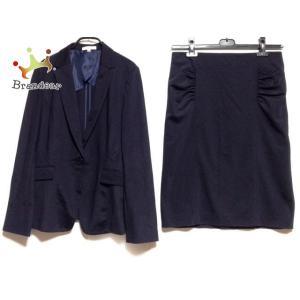 ナラカミーチェ NARACAMICIE スカートスーツ サイズ3 L レディース - ダークネイビー 新着 20200813 brandear