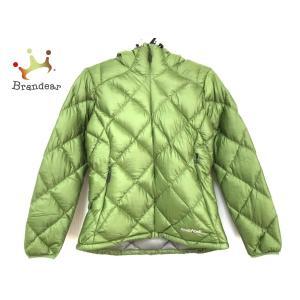 モンベル mont-bell ダウンジャケット サイズS レディース グリーン 冬物 新着 2021...