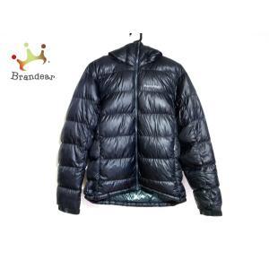 モンベル mont-bell ダウンジャケット サイズS メンズ - 黒 長袖/冬 新着 20210...