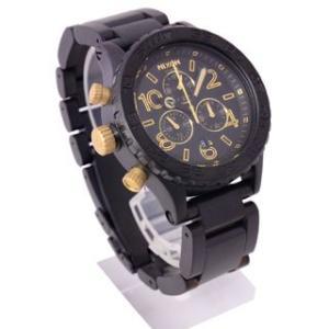 半額以下  ニクソン NIXON 時計 42-20 フォーティーツートゥエンティ A037-1041 クロノグラフ  メンズ マット ブラック  男女兼用腕時計|brandechoice