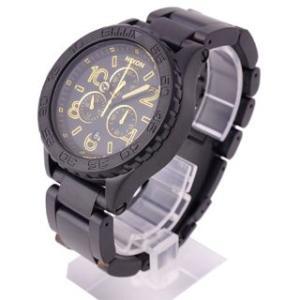 半額以下  ニクソン NIXON 時計 42-20 フォーティーツートゥエンティ A037-1041 クロノグラフ  メンズ マット ブラック  男女兼用腕時計|brandechoice|02