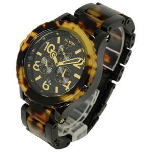 ニクソン NIXON 時計 42-20 フォーティーツー トゥエンティ A037-679 クロノグラフ メンズ オール ブラック トートイズ 男女兼用腕時計 brandechoice 02