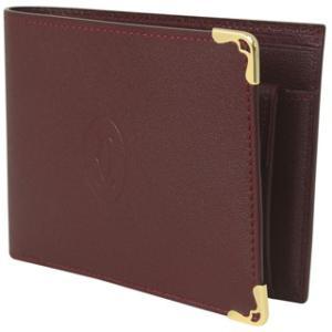 (カルティエ)Cartier カルティエ 財布 二つ折り財布...