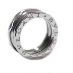 新品仕上げ済み ブルガリ B-zero1 ビーゼロワン #49 リング・指輪 レディース K18ホワイトゴールド ジュエリー 8.5号 シルバー 中古 送料無料|brandeco