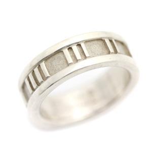新品仕上げ済み ティファニー アトラス リング・指輪 レディース シルバー925 アクセサリー 8.5号 シルバー 中古|brandeco