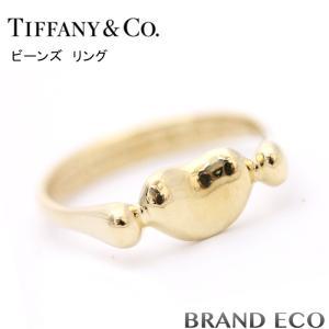 ティファニー ビーンズ リング K18 約8号 ゴールド 金 新品仕上済み 指輪 アクセサリー 中古