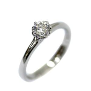 新品仕上げ済み ノーブランド フォーエバーマーク リング・指輪 レディース K18ホワイトゴールド ダイヤモンド ジュエリー 11.5号 シルバー 中古 送料無料 brandeco