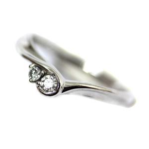 新品仕上げ済み ヨンドシー リング・指輪 レディース Pt950プラチナ ダイヤモンド ジュエリー 10号 シルバー 中古 送料無料|brandeco