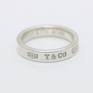 ティファニー 1837 リング・指輪 レディース シルバー925 アクセサリー 10号 シルバー 中古 brandeco