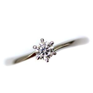 ヨンドシー H&C リング・指輪 レディース ダイヤモンド ジュエリー 8号 PT 中古 送料無料|brandeco