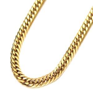 ノーブランド 喜平 6面 W ダブル ネックレス ユニセックス K18イエローゴールド ジュエリー ゴールド 中古 送料無料 brandeco