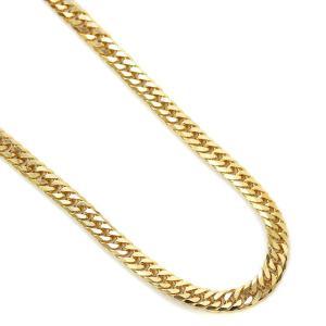 ノーブランド 喜平 6面カット ダブル ネックレス ユニセックス K18ゴールド ジュエリー イエローゴールド 中古 送料無料 brandeco