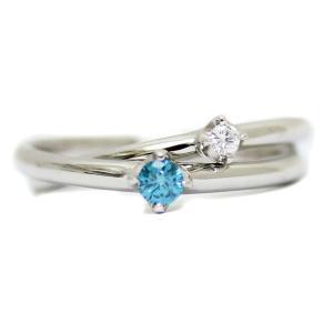 新品仕上げ済み ヨンドシー 2連 カラーストーン リング・指輪 レディース ダイヤモンド ジュエリー 8号 プラチナ 中古 送料無料|brandeco