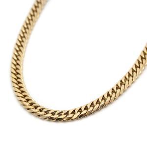 新品仕上げ済み ノーブランド 喜平 8面カット ネックレス メンズ K18イエローゴールド ジュエリー ゴールド 中古 送料無料|brandeco