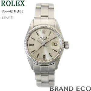 新品仕上げ・オーバーホール済み ROLEX ロレックス オイスターパーペチュアルデイト ref.6517 レディース 腕時計中古