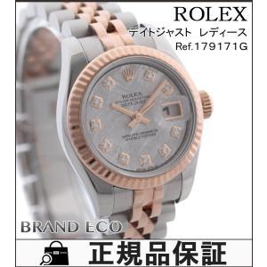 ロレックス デイトジャスト レディース 腕時計 SS K18...