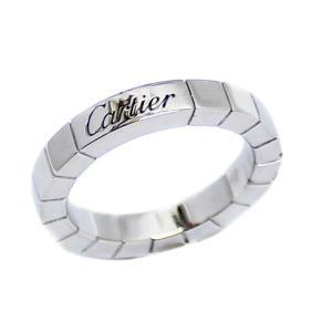 新品仕上げ済み カルティエ ラニエール リング・指輪 レディース K18ホワイトゴールド ジュエリー 7号 WG 中古 送料無料 brandeco