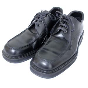 グッチ ビジネス シューズ 約25.5cm その他靴 メンズ レザー ブラック 111 6043 中古 送料無料|brandeco