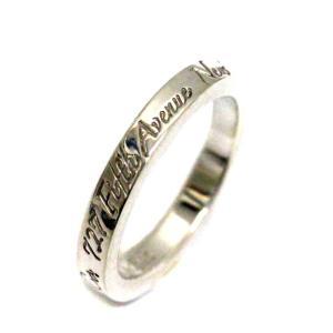 新品仕上げ済み ティファニー ニューヨーク ノーツナローリング リング・指輪 レディース シルバー925 アクセサリー 6.5号 シルバー 中古 brandeco