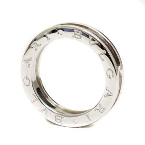 新品仕上げ済み ブルガリ 1バンド B-zero1 ビーゼロワン リング・指輪 レディース K18ホワイトゴールド ジュエリー 13号 WG 中古 送料無料|brandeco