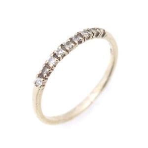アガット リング・指輪 レディース K10ゴールド ダイヤモンド ジュエリー 5号 イエローゴールド 中古|brandeco