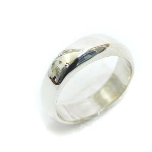 新品仕上げ済み ティファニー デザイン リング・指輪 レディース シルバー925 アクセサリー 8.5号 シルバー 中古|brandeco