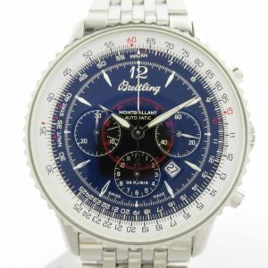 ブライトリング ナビタイマーモンブリラン ウォッチ 腕時計 シルバー ステンレススチール(SS) A...