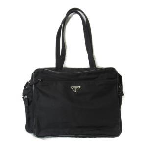 プラダ ブリーフケース ビジネスバッグ ブラック ナイロン V433 ランクB|brandoff
