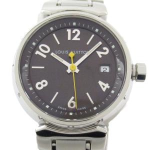 ルイヴィトン タンブール ウォッチ 腕時計 シルバー ステンレススチール(SS) Q12116 ランクA|brandoff