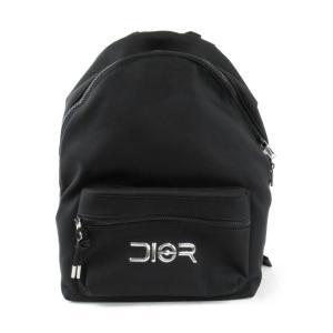クリスチャン・ディオール BAG リュックサック バックパック ブラック x シルバー ナイロン 1PEBA064YPR03EU 新品|brandoff