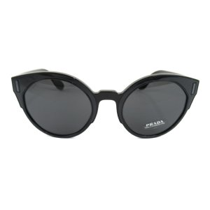 プラダ サングラス ボストン ブラックxブラック レンズ:プラスチック/テンプル:ナイロン/フレーム:プロピオネート 新品|brandoff