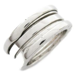ブルガリ B-zero1 リング Sサイズ ビーゼロワン 指輪 K18WG(750) ホワイトゴールド 323529 ランクA 12.5号|brandoff
