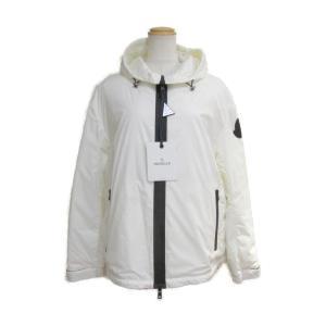 モンクレール ライトダウンジャケット ホワイト ナイロン(100%) 1A51100C03910343 新品|brandoff