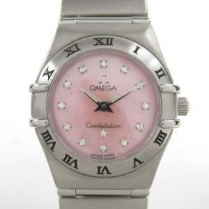 オメガ コンステレーション ミニ 12Pダイヤ ウォッチ 腕時計 シルバー ステンレススチール(SS) 1562.65 ランクA|brandoff