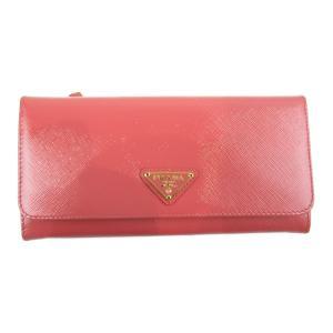 プラダ サフィアーノ 二つ折り長財布 長財布 ピンク サフィアーノレザー  ランクA|brandoff