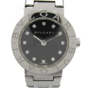 ブルガリ ブルガリ ブルガリ 12Pダイヤモンド ウォッチ 腕時計 シルバー ステンレススチール(SS) BB23SS ランクA|brandoff