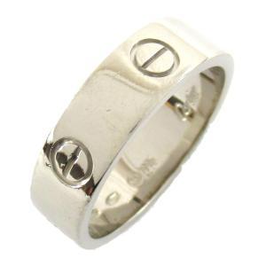 カルティエ ラブリング 指輪 K18WG(750) ホワイトゴールド  ランクA #60/20号|brandoff