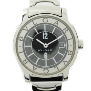 ブルガリ ソロテンポ ウォッチ 腕時計 シルバー ステンレススチール(SS) ST29 ランクA|brandoff