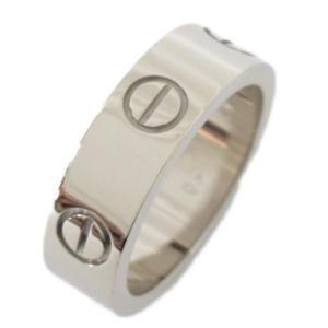カルティエ ラブリング 指輪 K18WG(750) ホワイトゴールド  ランクA #50/10号|brandoff