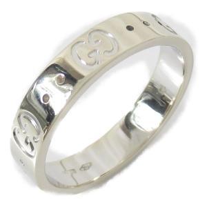 グッチ アイコンリング 指輪 K18WG(750) ホワイトゴールド  ランクA #14/13.5号 brandoff