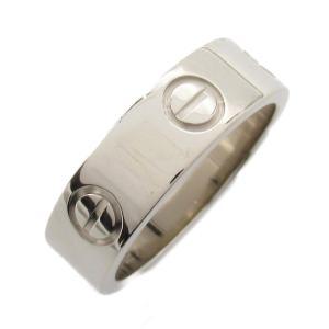 カルティエ ラブリング 指輪 K18WG(750) ホワイトゴールド  ランクA #51/10.5号|brandoff