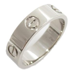 カルティエ ラブリング 指輪 K18WG(750) ホワイトゴールド  ランクA #56/15.5号|brandoff