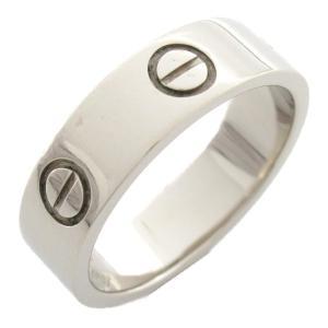 カルティエ ラブリング 指輪 K18WG(750) ホワイトゴールド  ランクA #53/13号|brandoff