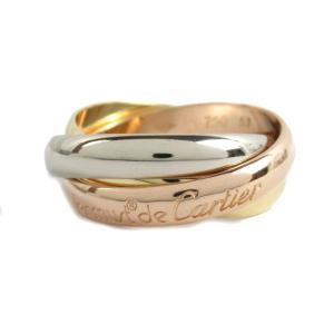 カルティエ トリニティリング 指輪  ランクA #51/11号|brandoff