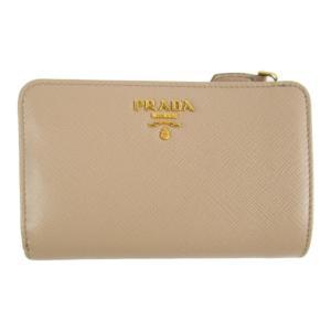 プラダ サフィアーノ L型ZIP財布 財布 ベージュ サフィアーノレザー 1ML225 ランクA|brandoff