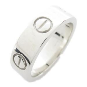 カルティエ ラブリング 指輪 K18WG(750) ホワイトゴールド  ランクA #51/11号|brandoff