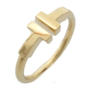 ティファニー Tワイヤーリング 指輪 K18YG(750) イエローゴールド  ランクA 11号|brandoff