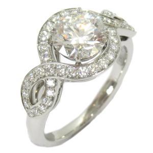 ハリーウィンストン リリークラスター ダイヤモンド リング 指輪 PT950 プラチナxダイヤモンド1.24ct  ランクA 11号|brandoff