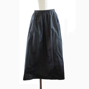 ザ・ロー  スカート ブラック シルク  ランクS|brandoff