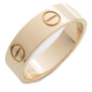 カルティエ ラブリング 指輪 K18PG(750) ピンクゴールド  ランクA #55/15号|brandoff